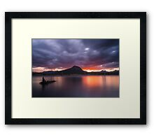 Lake Moogerah, Queensland Framed Print