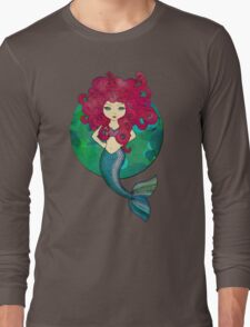 Mermaids have bad hair days, too. Long Sleeve T-Shirt