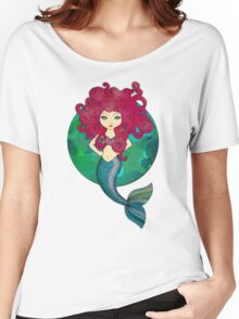 Mermaids have bad hair days, too. Women's Relaxed Fit T-Shirt
