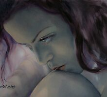 Burning In The Shadow by dorina costras