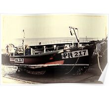 Fishing Boat PH217 Poster