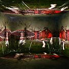 Magical Mushroom Farm by PineSinger