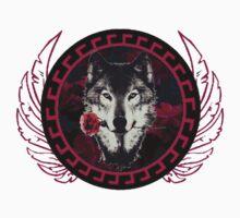 Wolf Rose by amirshazri