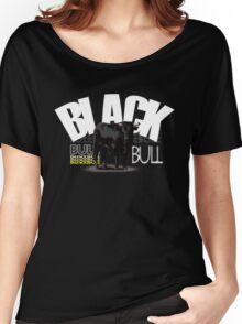 Spanish black bull  Women's Relaxed Fit T-Shirt