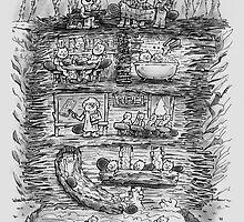 Mr Beaver's Wonder Dam by nickv47