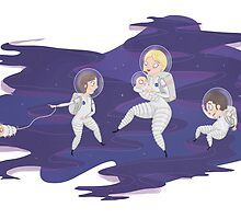 Space Walk by Sarah Crosby