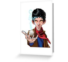 Merlin - The game Greeting Card