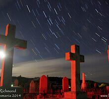 St Luke's Cemetery (Red) by Herandi