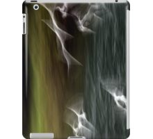 gulls upon a river iPad Case/Skin