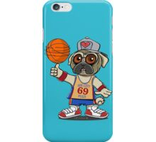 Sin City Pugs Basketball club iPhone Case/Skin