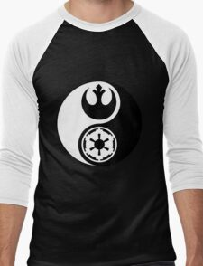 Rebel Alliance v Galactic Empire - Yin Yang 2 Men's Baseball ¾ T-Shirt