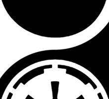 Rebel Alliance v Galactic Empire - Yin Yang 2 Sticker