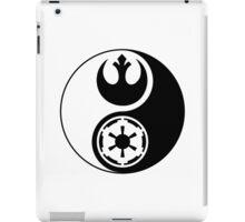 Rebel Alliance v Galactic Empire - Yin Yang 2 iPad Case/Skin