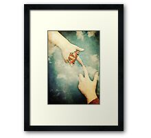 Touch - Michelangelo Style Framed Print