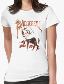 Daggerfall The Elder Scrolls 2.0 Womens Fitted T-Shirt