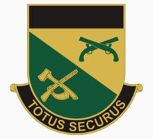 151st Military Police Battalion - Totus Securus - All Secure by VeteranGraphics