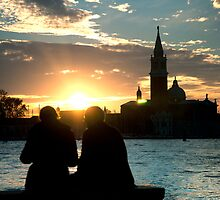Old couple in Venice by thomasmwynne