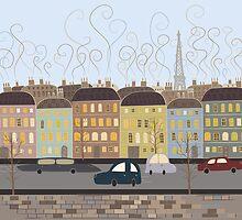Paris, my love by wildfloweret