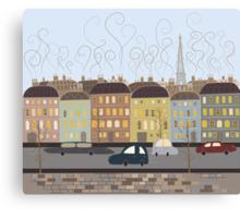 Paris, my love Canvas Print