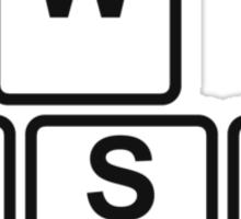 PC Gamer's WASD Tee Sticker