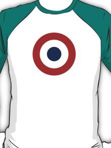 French army roundel / Cocarde de l'armée française T-Shirt