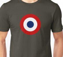 French army roundel / Cocarde de l'armée française Unisex T-Shirt