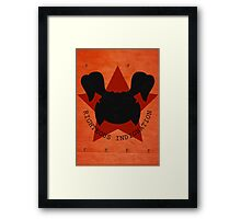 Righteous Indignation Framed Print