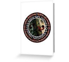 Wildwood: Red squirrel Greeting Card