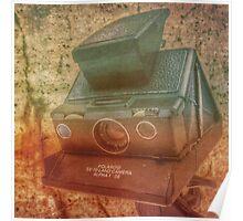 Polaroid sx70 par Jean-François Dupuis Poster