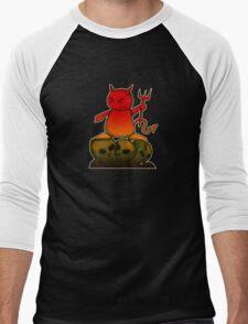 Devil Men's Baseball ¾ T-Shirt
