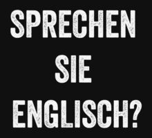 Do you speak English? (German) (White) by EnglishAbroad