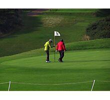 Lady Golfers Photographic Print