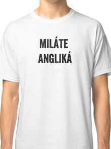 Do you speak English? (Greek) Classic T-Shirt