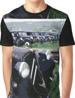 car :  Waiting day Best !  1976 collector 3  (c)(h) by Olao-Olavia / Okaio Créations Graphic T-Shirt