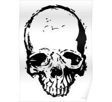 Skull Vector Poster