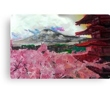 Blooming Cherry Blossoms Canvas Print