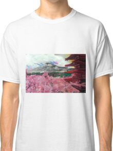 Blooming Cherry Blossoms Classic T-Shirt