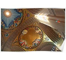 The Shrine Of The Immaculate Conception -- America's Catholic Church Poster