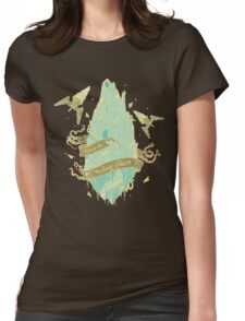Flying Fairy Womens Fitted T-Shirt