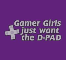 Gamer girls want the D pad by Boogiemonst