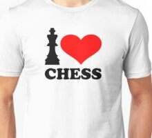 I love chess Unisex T-Shirt