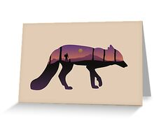 The Fox Mountain Greeting Card