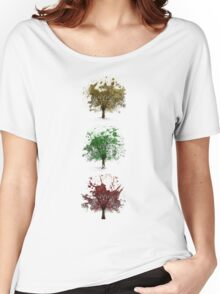 Painted trees Women's Relaxed Fit T-Shirt