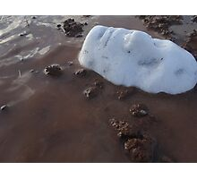 White Ice Face Series (6) 2014 Photographic Print