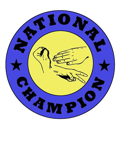 Rock Paper Scissors National Champion by kwg2200