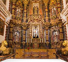 Mission San Xavier Alter by BGSPhoto
