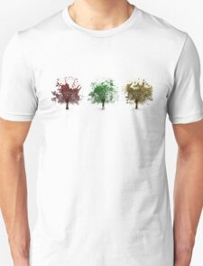 Painted trees Unisex T-Shirt