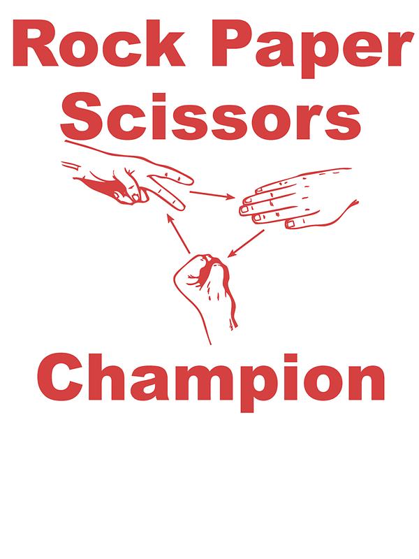 Rock Paper Scissors Champion by kwg2200