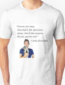 Joey Graceffa-FORSPACIOUSSKIES Unisex T-Shirt