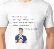 Joey Graceffa-FORSPACIOUSSKIES Unisex T-Shirt